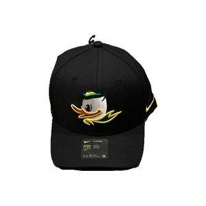 Oregon Ducks Nike Puddles Flex Fit Hat Cap L/XL